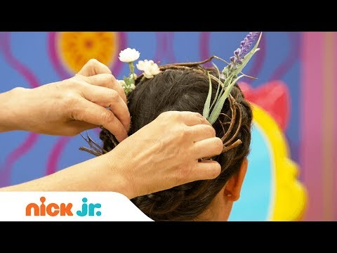how-to-make-a-woodland-fairy-hairstyle-tutorial-🧚♂️ -sunny-day's-style-files- -nick-jr.