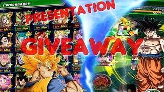 Giveaway Dokkan Battle // Présentation de mon compte