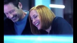 Gillian Anderson David Duchovny The X Files Season 11 Bloopers Excerpt