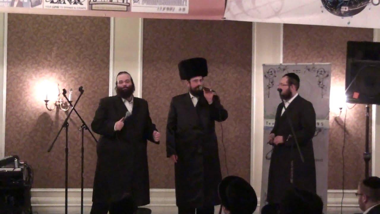 Melaveh Malkah with the Stars! Yisroel Werdyger, Shloime Taussig & Shragi Gestetner