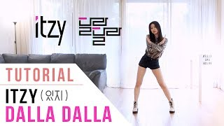 ITZY (있지) - DALLA DALLA (달라달라) Dance Tutorial (Explanation + Mirrored) | Ellen and Brian