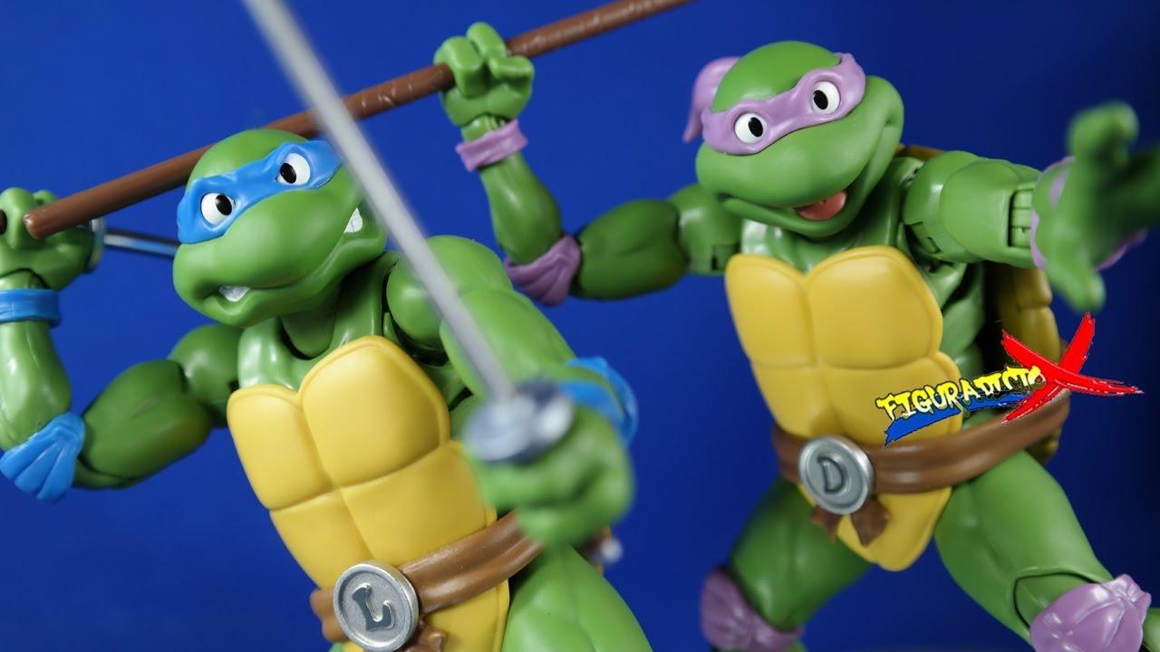 Bandai Teenage Mutant Ninja Turtles TMNT Leonardo SH Figuarts Action Figures Toy