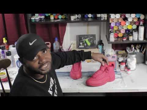 Jordan 12 Suede Cleaning & Dye