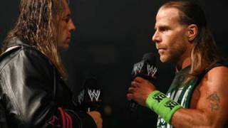 Raw: Bret Hart encounters Shawn Michaels for the first time