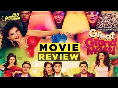 Great Grand Masti | Movie Review | Anupama Chopra from YouTube · Duration:  3 minutes 21 seconds