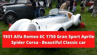 1931 Alfa Romeo 6C 1750 Gran Sport Aprile Spider Corsa at St. James