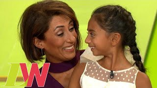 Saira Khan Shares Her Heartfelt Thanks For Being Able to Adopt Her Daughter | Loose Women