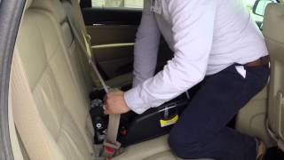 How to properly install a child's car seat