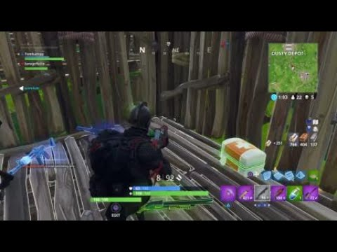Played them with a trap  Fortnite