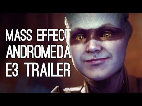 Mass Effect Andromeda Trailer - Mass Effect Andromeda Story Preview (Mass Effect 4, E3 2016)