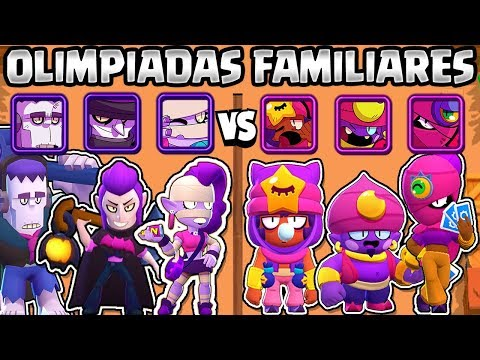WHAT IS THE BEST FAMILY? | MONSTERS VS MAGICS | FAMILY OLYMPICS BRAWL STARS