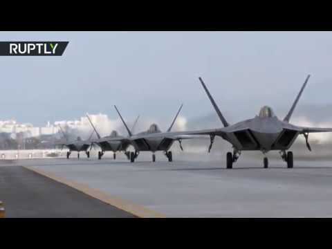 RAW: US & South Korea launch joint combat air-force exercise