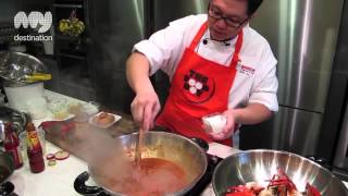 My Destination Singapore Kitchen   Chilli Crab