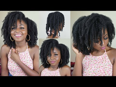 Detailed: HOW TO DO A PROPER 3 STRAND TWIST ON 4C NATURAL HAIR ft AsIam