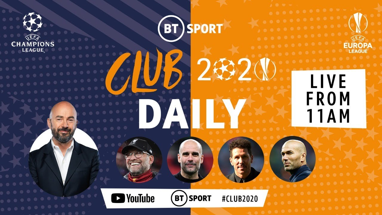 Which manager would you most like to play under? Klopp, Pep, Simeone or Zidane | Club 2020 Daily