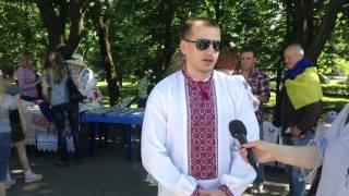 День украинской вишыванки в Мариуполе 21.05.2015