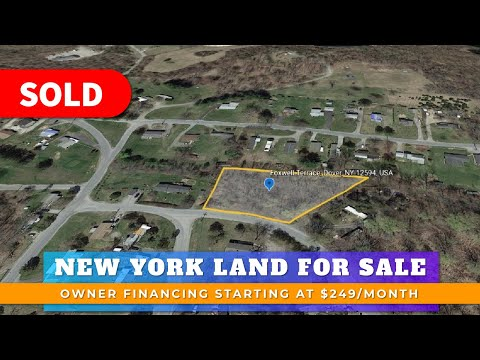 Just Sold By WeSellNewYorkLand.com - Dover, NY Land For Sale Dutchess County New York