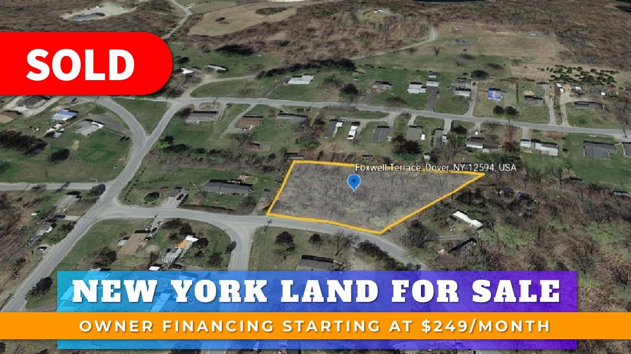 Just Sold By WeSellNewYorkLand.com - Cheap Land For Sale New York Foxwell Terrace, Wingdale, NY