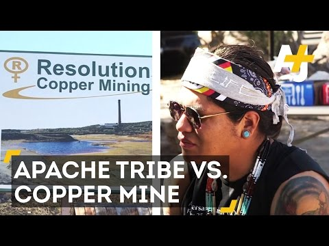 Apache Tribe Is Taking On A Copper Mining Company