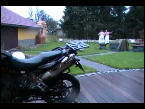 Quick-Lock, Verarsche, Lustig, Motorrad, Kofferträger