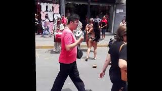 charapita bailando en Gamarra