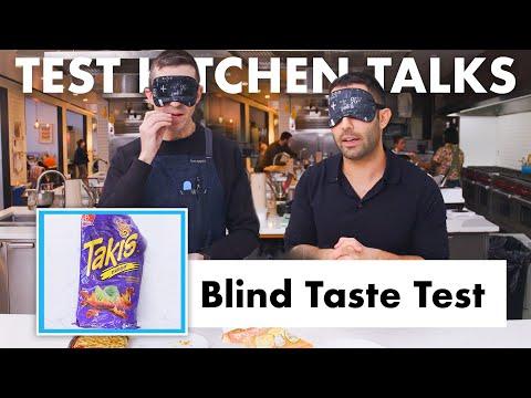 Pro Chefs Blindly Taste Test Snacks | Test Kitchen Talks | Bon Appétit