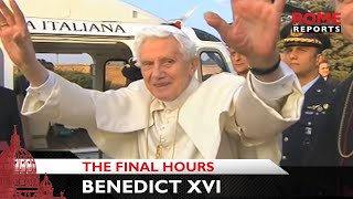 The final hours of the papacy of Benedict XVI
