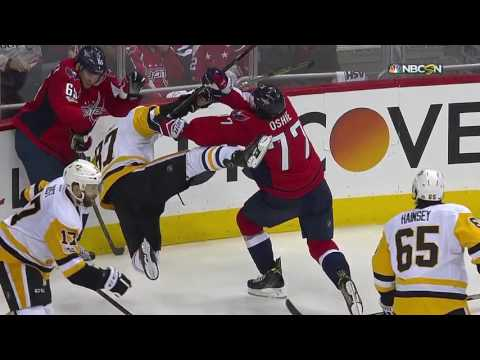 Pittsburgh Penguins  vs  Washington Capitals - May 10, 2017 | Game Highlights | NHL 2016/17