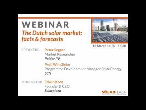 TSF NL 15 - Webinar - The Dutch Solar Market: Facts & Forecasts