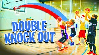 2HYPE DOUBLE KNOCKOUT NBA Basketball Challenge!!