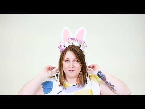 How To Make: Easter Bunny Headband