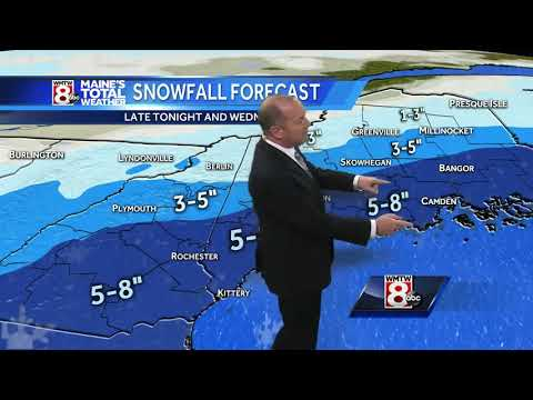 Snow continues through the day with several inches likely