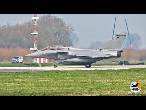 French Rafales in action!  Frisian Flag 2018 (EHLW)