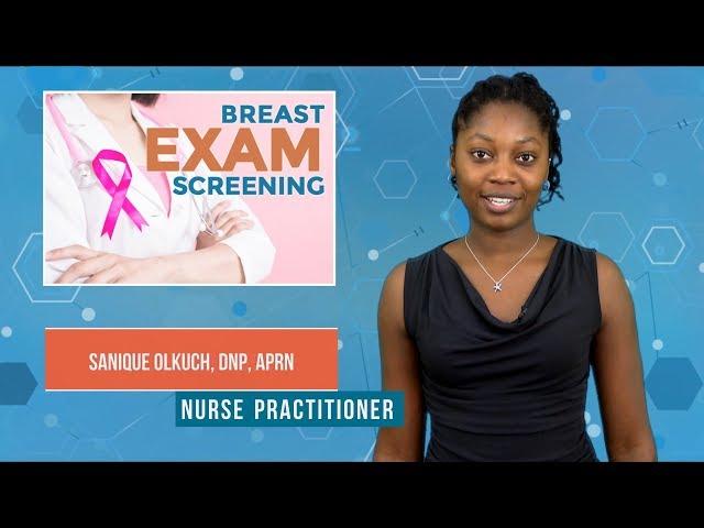 Examen de detección de mamas