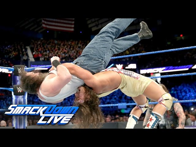 Four Corners Elimination SmackDown Tag Team Title Match: SmackDown LIVE Wild Card Finals, Dec. 27