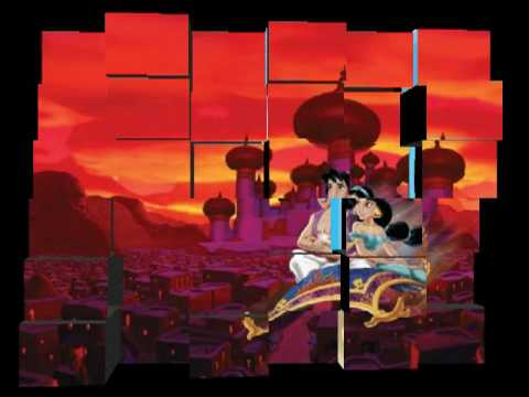 A Whole New World Lyrics - Aladdin musical