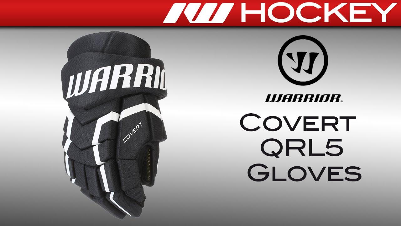 Warrior Covert QRL5 Hockey Gloves Review