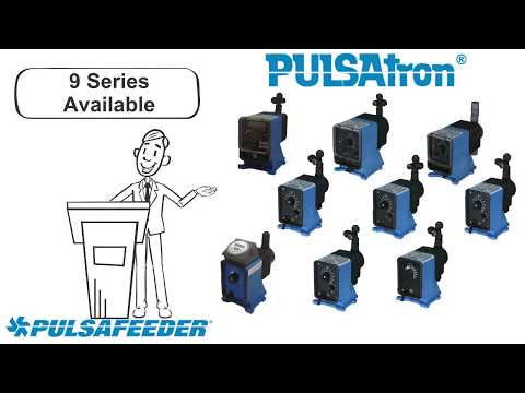 Pulsafeeder PULSAtron Series Overview