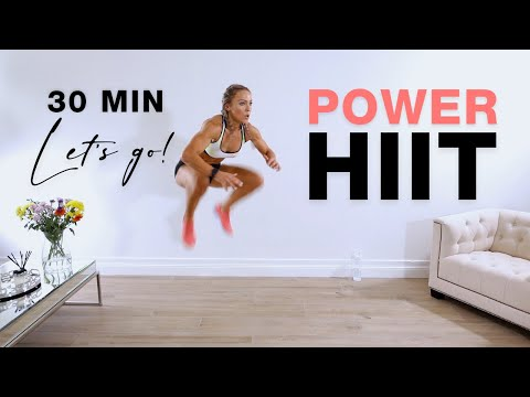 POWER HIIT WORKOUT | 30 Min Full Body - No Equipment at Home