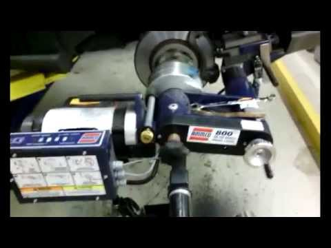 Ammco 800 On-The-Car Brake Lathe - Review