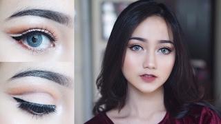 Easy Cut Crease Makeup Tutorial [ENG SUB] || Juvia