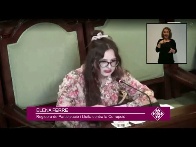 Aconseguim que Lleida disposi de codi ètic malgrat que tota l'oposició prefereix votar-hi en contra