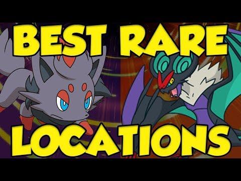 Best New Rare Pokemon Locations In Pokemon Ultra Sun And Pokemon