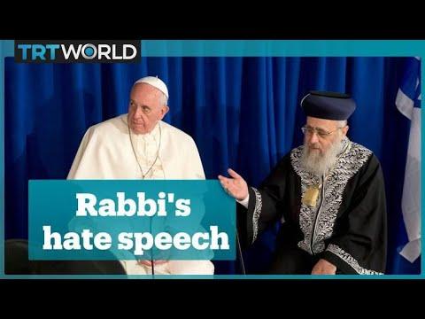 Israeli chief rabbi compares black people to monkeys