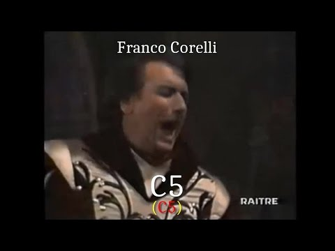 Opera Singers - The Tenor High C (C5) - High Notes Battle