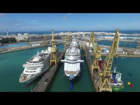 NAVANTIA Shiprepairs Cádiz: Cruises 2016