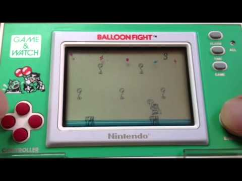 balloon fight game and watch