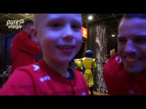 Pure Energie bij het Sinterklaasfeest van FC Twente