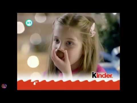 Украинская реклама Kinder - новогодние герои