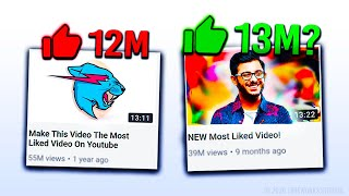 The Most Liked Video Is About To Be Overtaken Or Is It Youtube